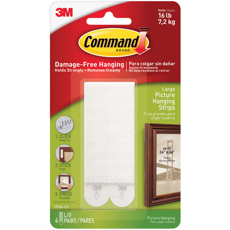 3M Command Hooks & Strips - PackagingSupplies com