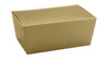4-3/16 x 2-5/8 x 1-7/8 (1/4 lb.) Gold Ballotin Candy Box 250/Case