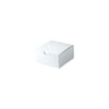 4 x 4 x 2 White Gloss Gift Box 100/Case