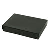 5 1/4 x 3 3/4 x 7/8 Black Gloss Jewelry Box 100/Case