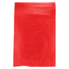 6 1/2 x 9 1/2 Red Hi-Density Flat Merchandise Bags (.55 mil thickness) 1000/Case