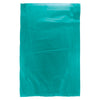 6 1/2 x 9 1/2 Teal Hi-Density Flat Merchandise Bags (.55 mil thickness) 1000/Case