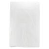 6 1/2 x 9 1/2 White Hi-Density Flat Merchandise Bags (.55 mil thickness) 1000/Case