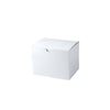 6 x 4 1/2 x 4 1/2 White Gloss Gift Box 100/Case