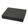 6 x 5 x 1 Black Pinstripe Jewelry Box 50/Case