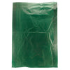 8 1/2 x 11 Dark Green Hi-Density Flat Merchandise Bags (.60 mil thickness) 1000/Case