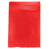 8 1/2 x 11 Red Hi-Density Flat Merchandise Bags (.60 mil thickness) 1000/Case