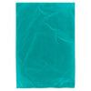 8 1/2 x 11 Teal Hi-Density Flat Merchandise Bags (.60 mil thickness) 1000/Case