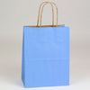 8 x 4 3/4 x 10 1/2 French Country Blue Shopping Bags w/ Handles 250/Case