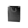 Black Gloss Eurotote Shopping Bags