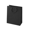 Black Matte Eurotote Shopping Bags