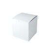 8 x 8 x 8 1/2 White Gloss Gift Box 50/Case