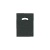 9 x 12 High Gloss Black Plastic Bags w/ Die Cut Handle 1000/Case