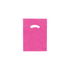 9 x 12 High Gloss Hot Pink Plastic Bags w/ Die Cut Handle 1000/Case