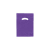 9 x 12 High Gloss Purple Plastic Bags w/ Die Cut Handle 1000/Case