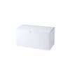 9 x 4 1/2 x 4 1/2 White Gloss Gift Box 100/Case