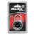 "MasterLock Combination Lock 1-7/8"" Black Dial, 6 locks/box"