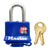 "MasterLock ThermoLock 1-9/16"" Blue Thermoplastic Cover, 4/Case"