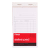 "Mead 64804 Sales Receipt Pad (3-1/4""x5-1/2"") 50 Original/Carbon Sets, 24 books/case"