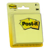 "3M Scotch Yellow Post-It Notes 3""x3"", 50 sheets/pad, 4 pads/card, 12 cards/box"