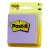 "3M Scotch Post-It Notes Assorted Pastel Colors 3""x3"", 50 sheets/pad, 4 pads/card, 12 cards/box"