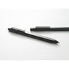 Moleskine Click Ball Pen - Refillable Black Ink - Clicks onto side of hard cover.