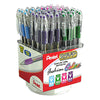Pentel Ballpoint Pen Display 60 pc RSVP Fashion Colors-Medium 60/Case