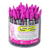 Pilot Pink Ribbon Pen Display 48 pc Black Ink Tub Display 48/Case