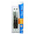 Paper Mate Gel Pen - Black Ink, Medium Point, 2 pens/card, 6 cards/box 12/Pack