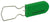 Padlock Seal, Green 100/Pack