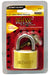 "Defense2 Solid Brass 1-3/4"" Padlock, 4/Case"