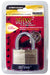"Defense2 Chrome Plated 1-3/4"" Laminated Padlock, 4/Case"
