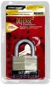 "Defense2 Chrome Plated 2"" Laminated Padlock, 4/Case"