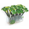 4 Leaf Clover Ballpoint Pen Display (includes acrylic display holder) Black Ink, 24 pens/display