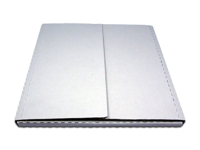 12 1/2 x 12 1/2 x 1/2, 1 Premium White Multi-Depth LP / Record Album Mailer 50/Case