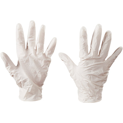 Latex Industrial Gloves - Large 100/Case