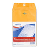 "76010 Mead 6""x9"" Kraft Clasp Envelopes 5 envelopes/retail pack, 12 retail packs/case"