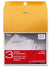 "76014 Mead 10""x13"" Kraft Clasp Envelopes Envelopes, 3 envelopes/retail pack, 12 retail packs/case"
