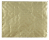 6-5/8 x 4-1/4 (1/2 & 1lb 2-pc or 1-1/2 lb 1-pc) Rectangular Candy Pad Gold 500/Case