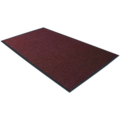 2 x 3 Feet Red Deluxe Vinyl Carpet Mat