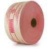 "3"" x 450 Feet #270 Printed Warning (S-4 Premium Duty) Brown Kraft Gummed Tape 10/Case"