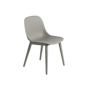 Fiber Side Chair Wood Base