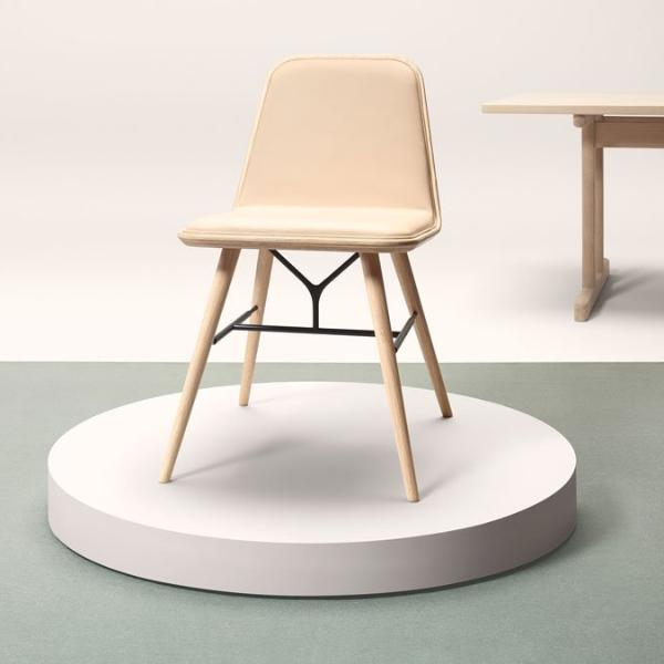 Spine Wood Base Chair