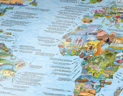 Awesome Maps Bucketlist Map