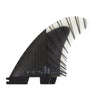 FCS II Reactor PC Carbon Large Black/Charcoal Tri Retail Fins