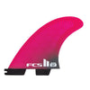 FCS II SF PC Medium Pink Tri Retail Fins