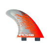 FCS PC-3 Red Smoke Quad Retail Fins