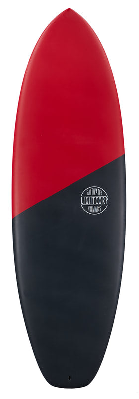 Light Hybrid Surfboard 5'10