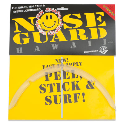 SurfCo Hawaii Fun Shape Nose Guard Kit Clear