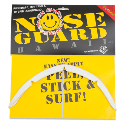 SurfCo Hawaii Fun Shape Nose Guard Kit White